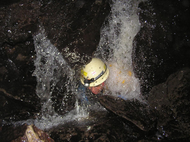 Durchstieg Wasserloch